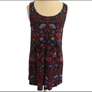 H&M Shift Dress w/ Floral Design BoHo
